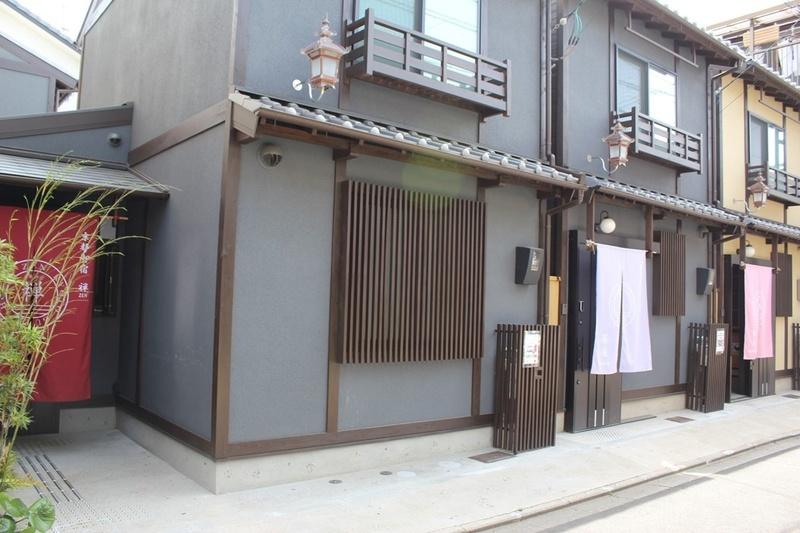 京都御宿禅の外観