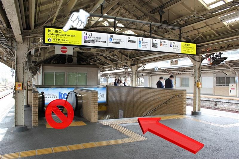 JR京都駅ホーム